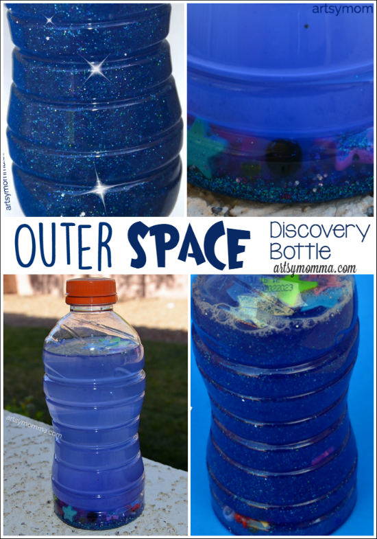 Solar System in a Bottle Preschool Craft
