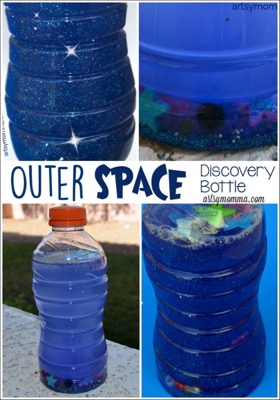 Solar System in a Bottle Preschool Craft