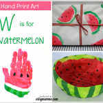 Super Sweet Watermelon Crafts for Kids to Make!