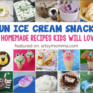 Creative Ice Cream Snacks for Kids