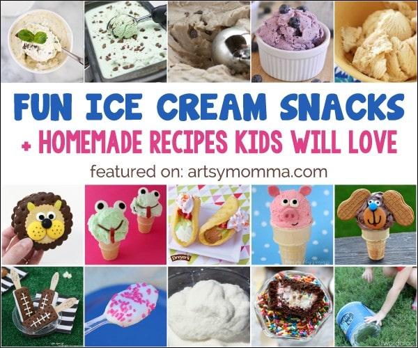 Creative Ice Cream Snacks for Kids