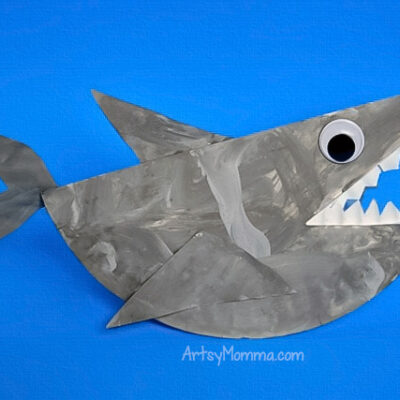 Fun Paper Plate Shark Craft That Rocks!
