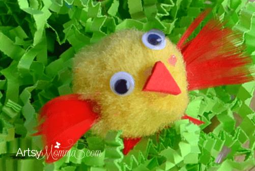 How to make Pom Pom Birds