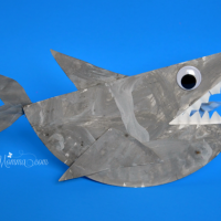 Rockin' Paper Plate Shark Craft for Kids