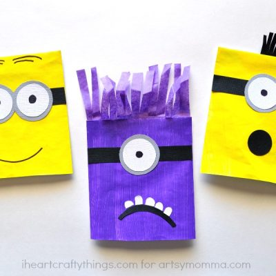 DIY Minion Puppets for Kids