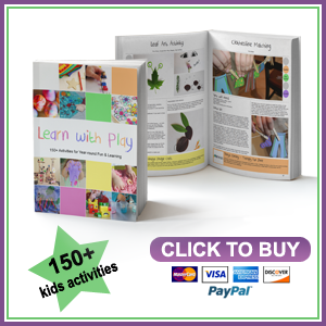 150+ kids activities for learning with play - Book