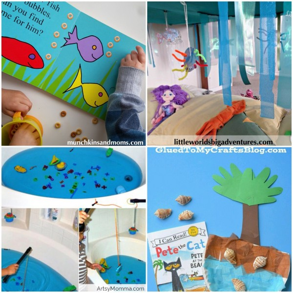 Kids Activities: Under the Sea Books and Pretend Play Ideas
