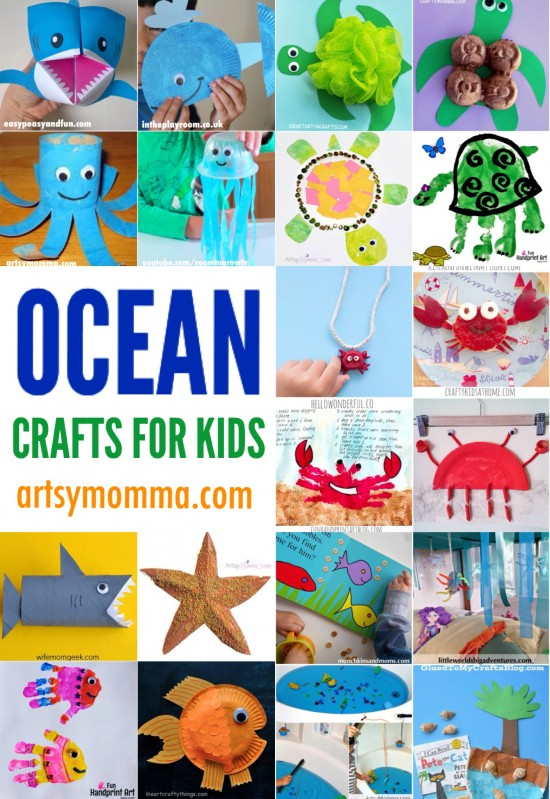20 Fun Ocean Crafts for Kids