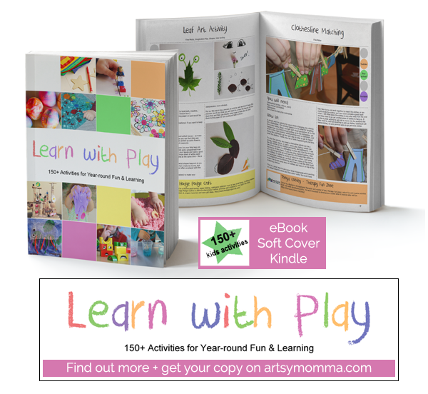 Learn with Play – Super Awesome Book for Kids Activities!