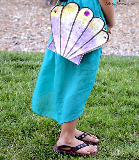 Little Mermaid Seashell Purse