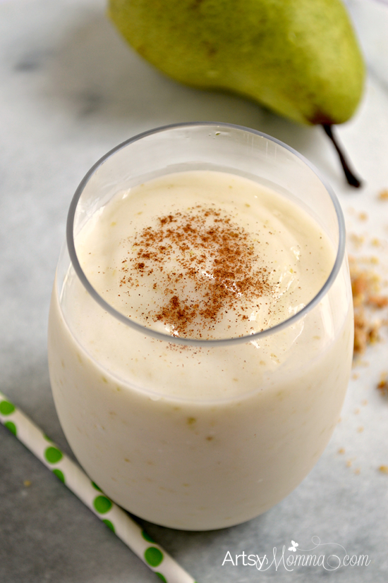 Pear and Granola Smoothie Recipe