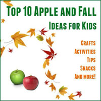 Apple and Fall Ideas for Kids