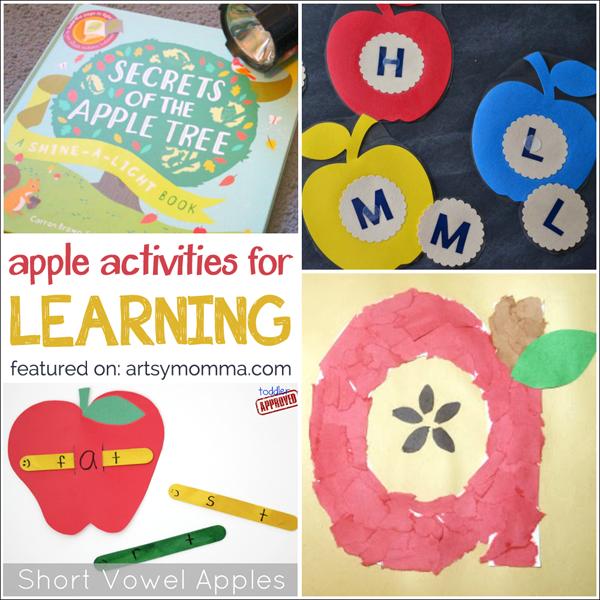 10 Apple Themed Learning Activities Artsy Momma