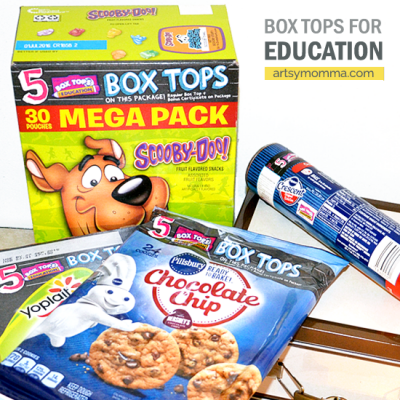 Save Big for a Bright Future with Box Tops for Education!