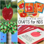 10 Creative Apple Crafts for Kids of All Ages