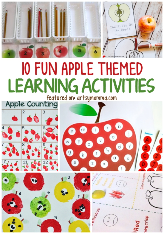 10 Fun Apple Themed Learning Activities