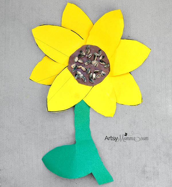Sunflower Craft for Elementary Ages