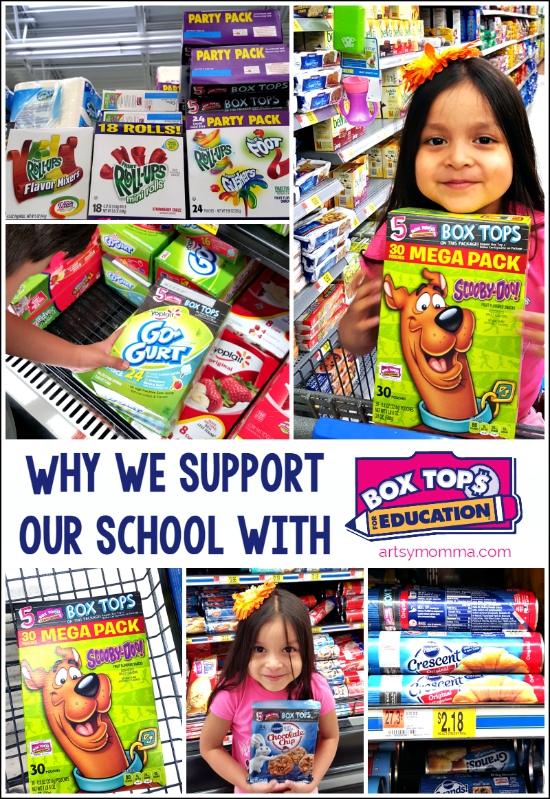Supporting our School with Box Tops for Education