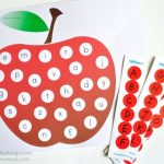 Fun ABC Apple Matching Printable for Preschoolers