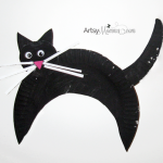 Black Cat Crafts for a Fun Halloween Art Playdate!