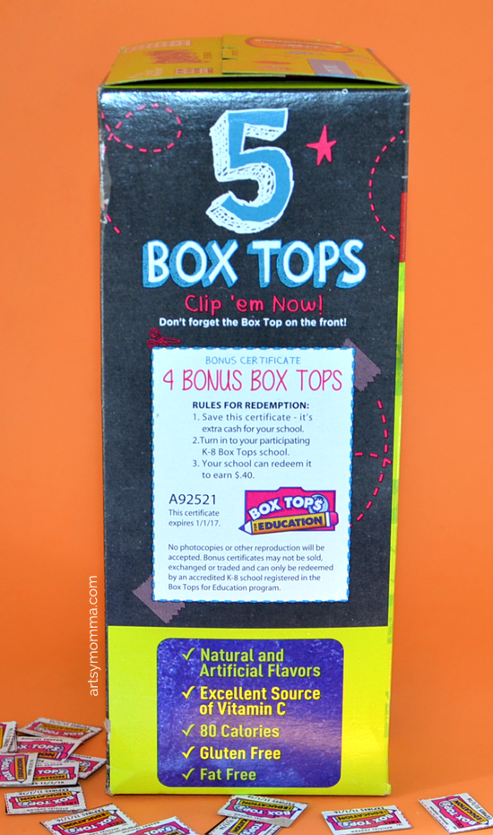 5 Bonus Box Tops for Education