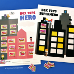 Box Tops Superheroes Collection Sheets - Print for free!