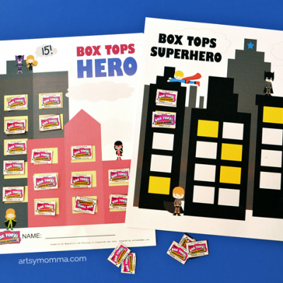 Be a Box Tops Hero! Printable Collection Sheets