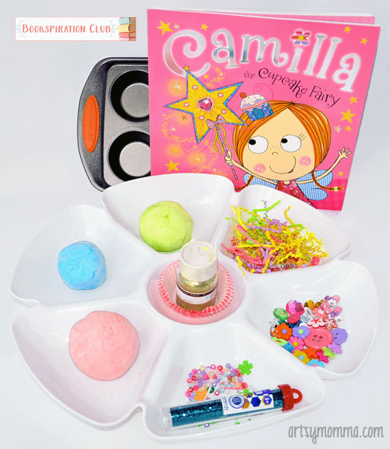 Playdough Cupcakes - Camilla the Cupcake Fairy Book Activity