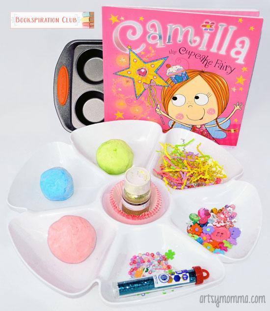 Playdough Cupcakes - Camilla the Cupcake Fairy Book Activity