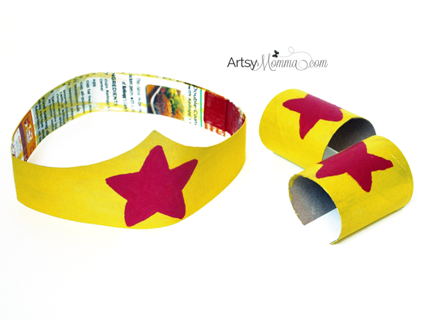 Wonder Woman Crafts for Pretend Play