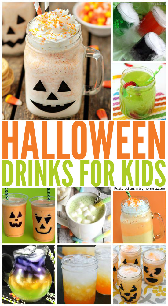 20 Fun Drinks for a Kids Halloween Party