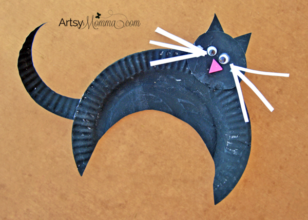 Black Cat Crafts for Halloween