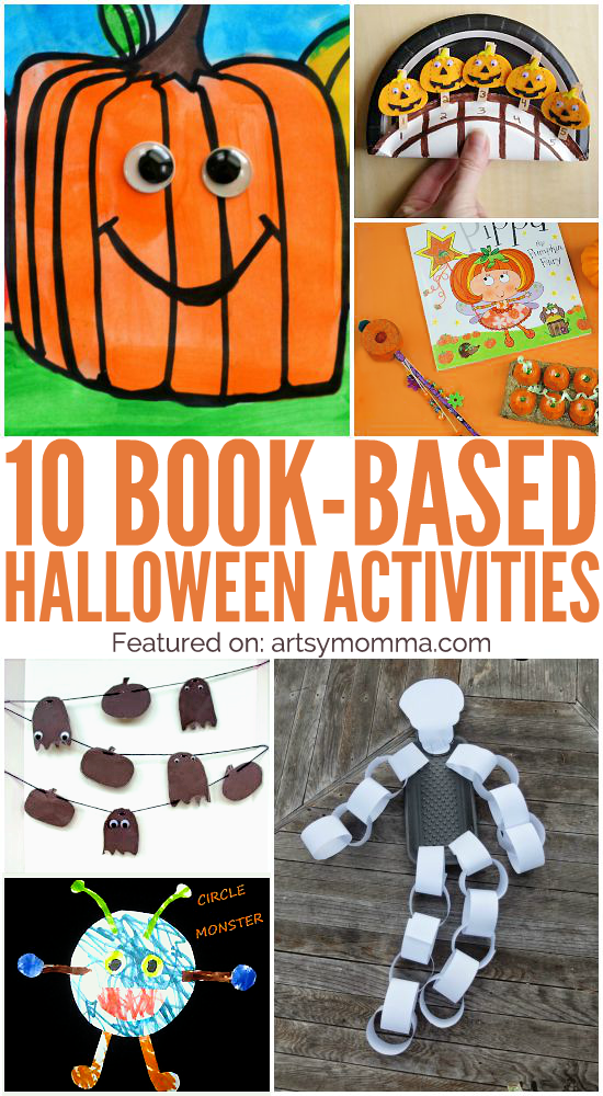 10 Cute Book-based Halloween Crafts - Artsy Momma
