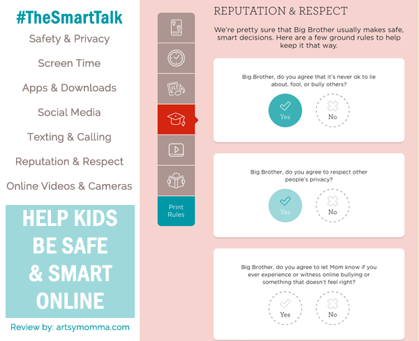 Help Kids Be Safe Online with The Smart Talk by Lifelock