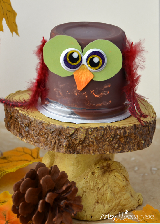Hershey's Pudding Owl Snacks and Craft Idea