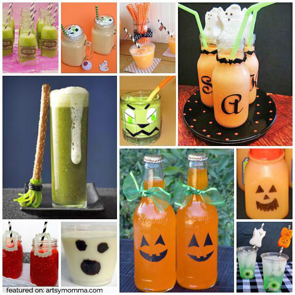 20 Fun & Creative Halloween Drinks for Kids