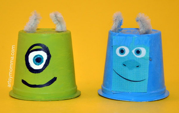K Cup Monsters University Craft