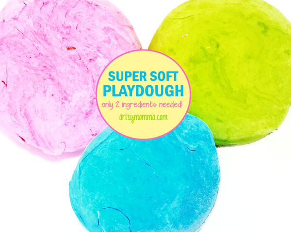 Super Soft Playdough Recipe