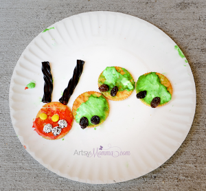 The Very Hungry Caterpillar Cracker Snack Craft