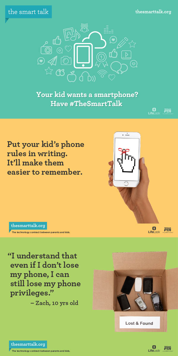 Is your child ready for a smartphone? Have The Smart Talk with them!