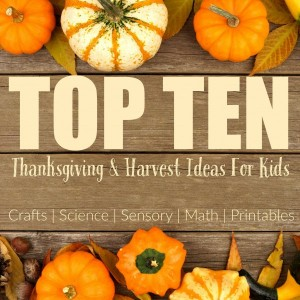 Thanksging/Harvest Crafts, Activities, & Learning Fun