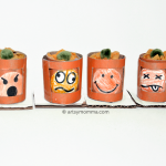 Fun Jack-o-lantern Craft with Changeable Emotions