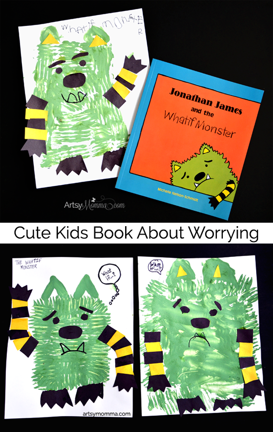 Jonathan James and the Whatif Monster Craft - Cute kids books about worrying about What If?