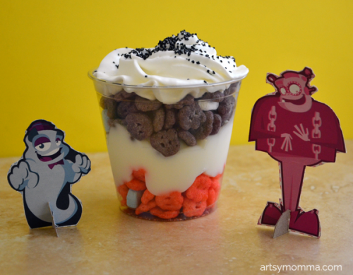Mixed Up Monster Parfait