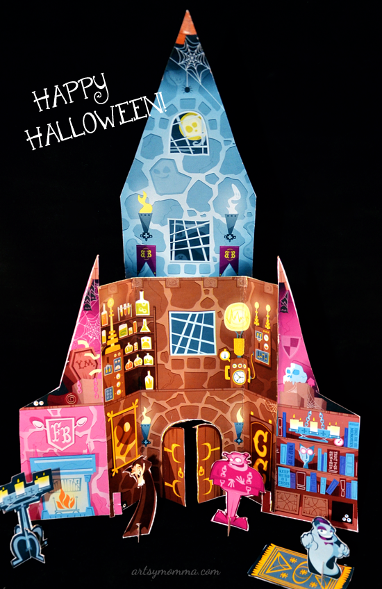 Monster Cereal Haunted Castle Craft
