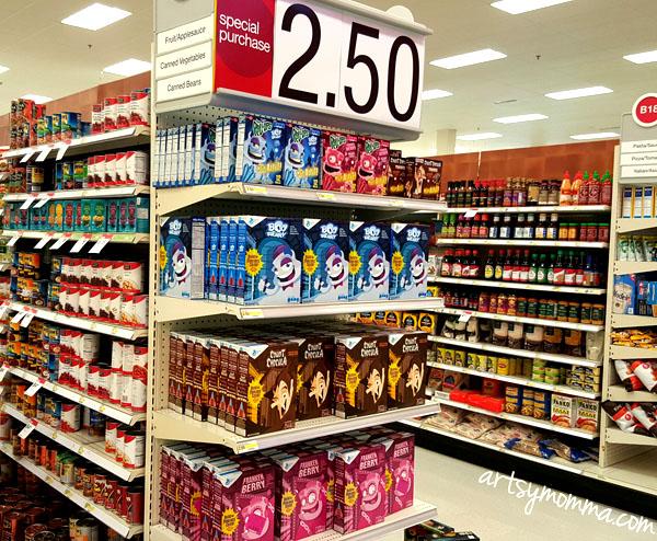 Monster Cereals at Target