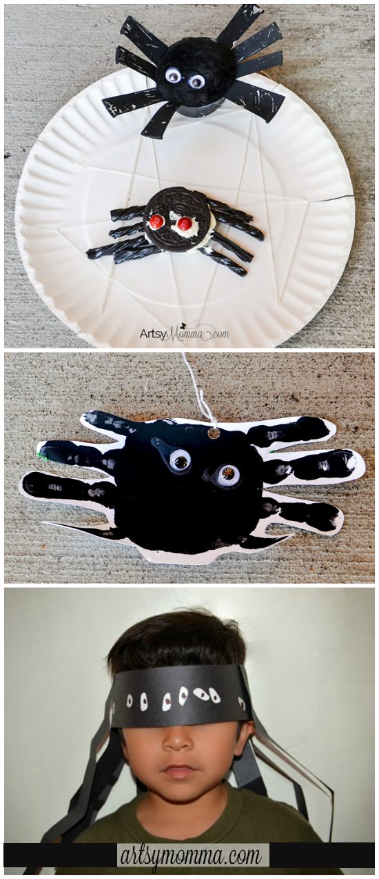 Cute Spider Theme for Preschoolers
