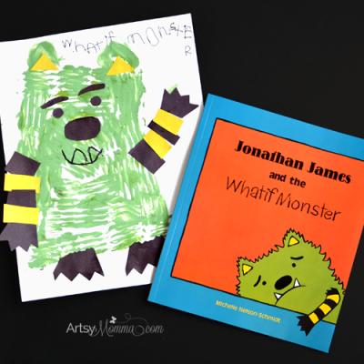 Jonathan James and the Whatif Monster Book + Craft