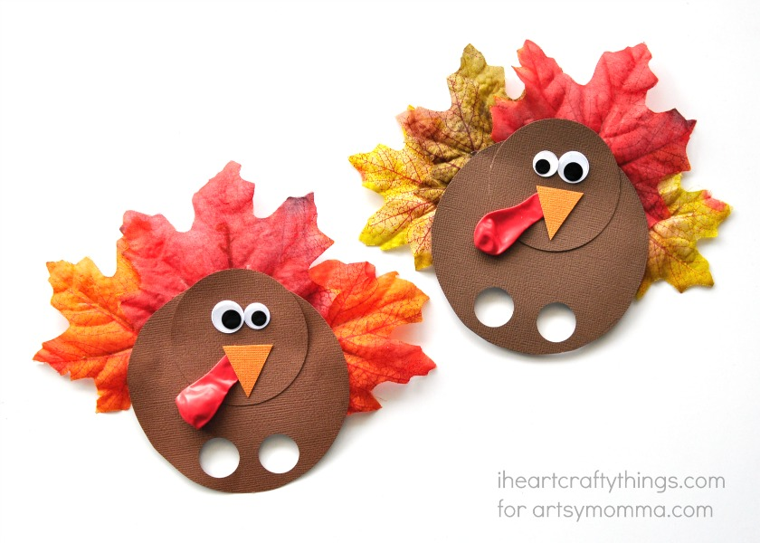 Thanksgiving Turkey Finger Puppet Craft