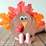 How to make an Adorable Turkey Finger Puppet